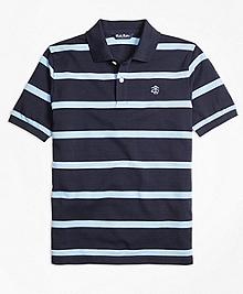 Cotton Stripe Polo