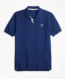 Oxford Trim Pique Polo