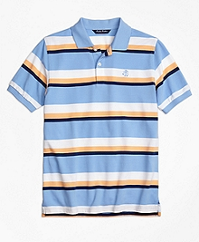 Large Stripe Polo