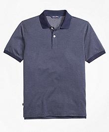 Cotton Bird's-Eye Polo Shirt