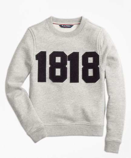 1818 Crewneck Pullover Fleece
