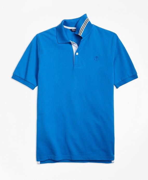 Short-Sleeve Pique Polo