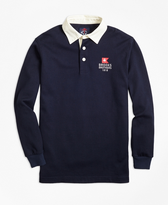 Nautical Flag Rugby Navy