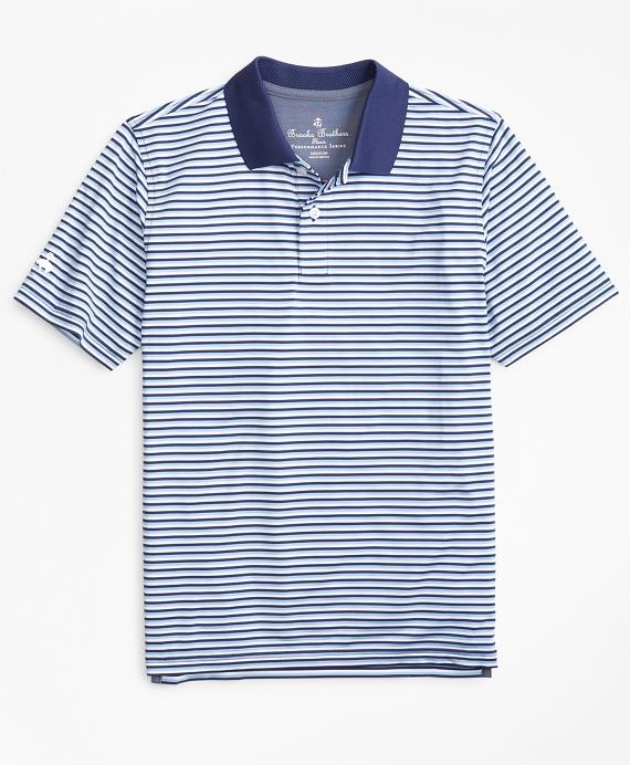 Performance Feeder Stripe Polo Shirt