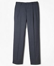 BrooksEase Prep Pleat-Front Dress Trousers