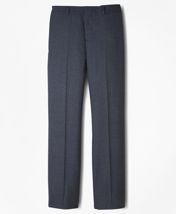BrooksEase Junior Plain-Front Dress Trousers Grey