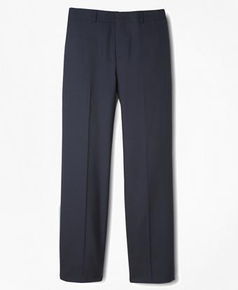 BrooksEase Junior Plain-Front Dress Trousers