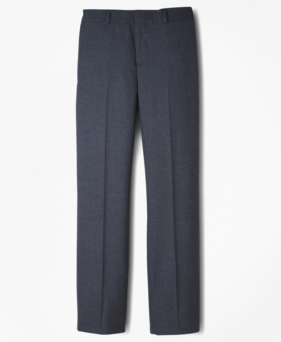 BrooksEase Prep Plain-Front Dress Trousers Grey