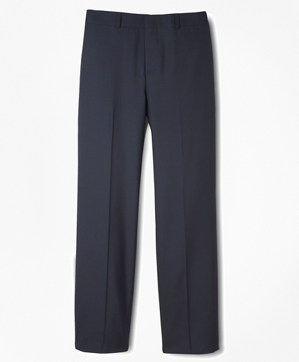 BrooksEase Prep Plain-Front Dress Trousers