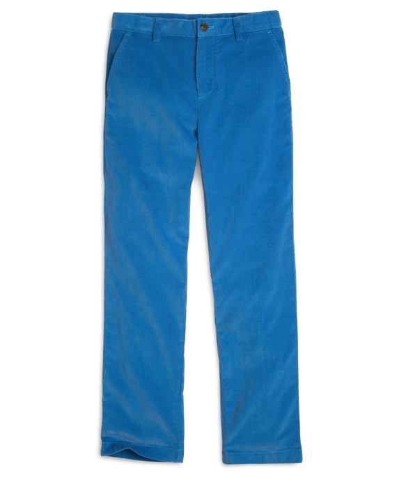 Corduroy Pants Blue