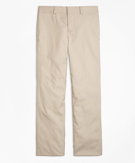 Cotton Poplin Junior Suit Trousers