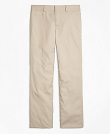 Cotton Poplin Prep Suit Trousers