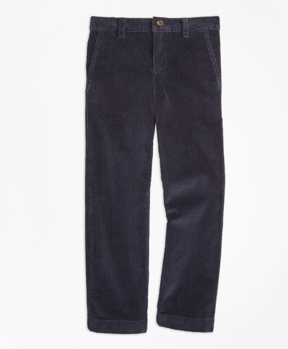 Wide Wale Corduroys Navy