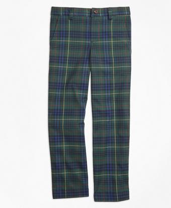 Stewart Hunting Plaid Twill Pants