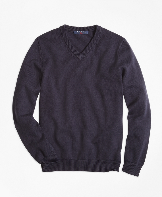 V-Neck Sweater Navy