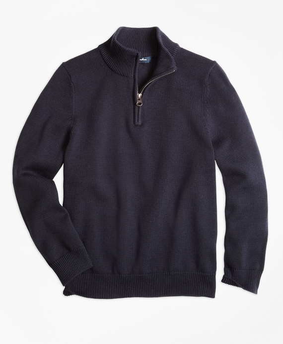 Half-Zip Sweater Navy
