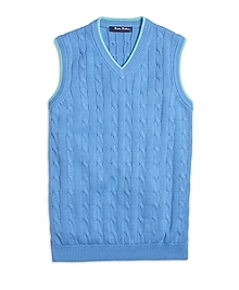 Cotton Cable Vest