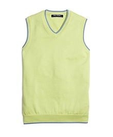 Supima® Cotton Sweater Vest
