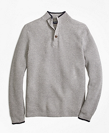 Supima® Mockneck Sweater