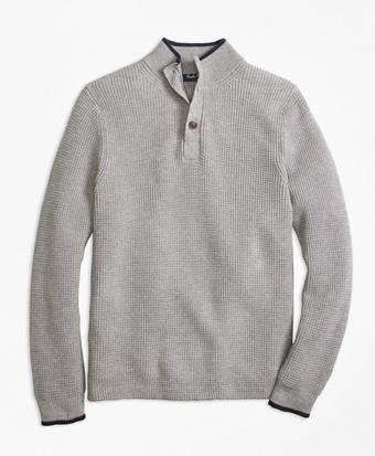 Supima® Mockneck Sweater