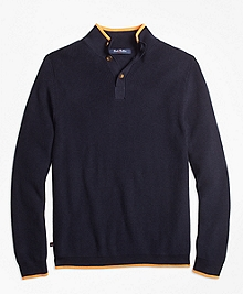 Supima® Cotton Mockneck Sweater