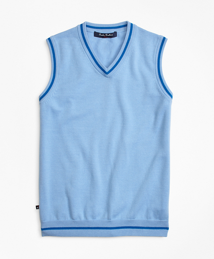 Cotton Tipped Vest