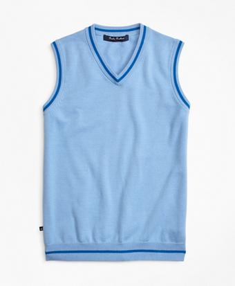 Cotton Tipped Vest