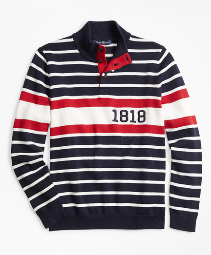 Cotton 1818 Mockneck Sweater