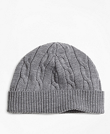 Merino Wool Cable Hat