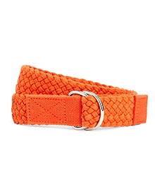 Solid Weave D-Ring Belt