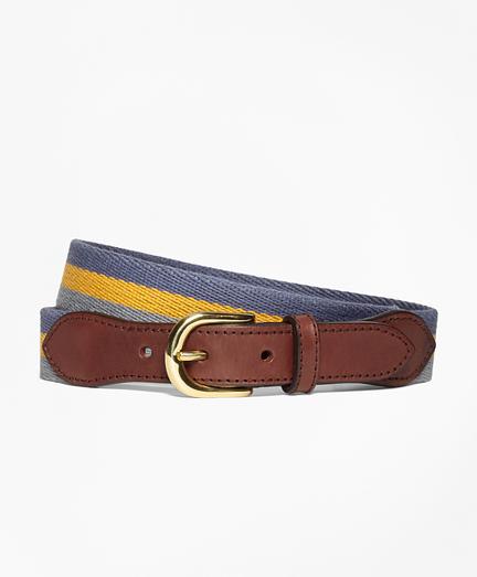 Stripe Cotton Belt