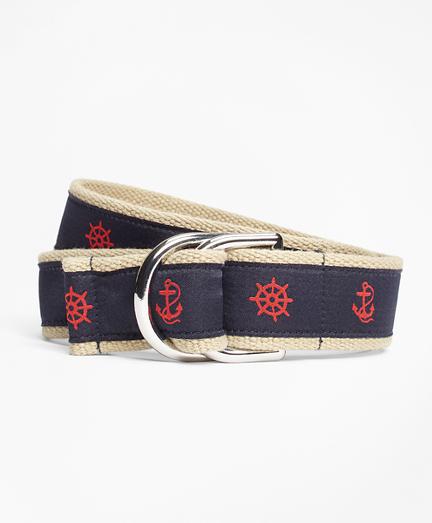Nautical Ribbon Belt
