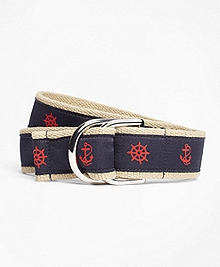 Nautical Ribbon Belt