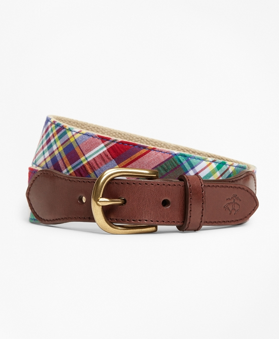 Cotton Madras Belt Multi