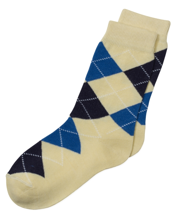Argyle Socks Yellow