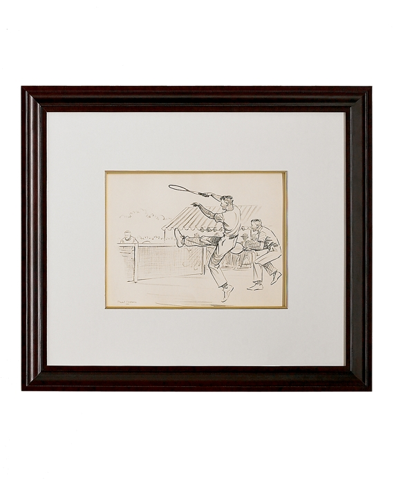 Paul Brown Limited Edition Lithographs - Tennis As Shown