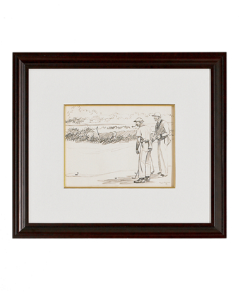 Paul Brown Limited Edition Lithographs - Golf