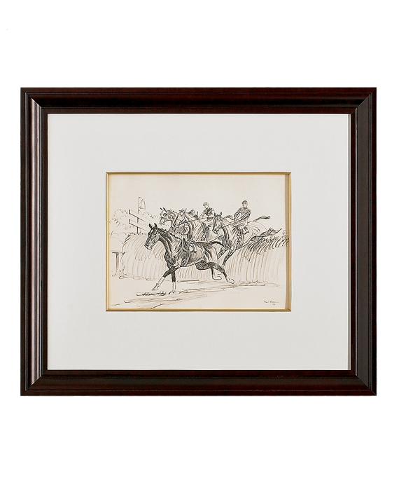 Paul Brown Limited Edition Lithographs - Steeplechase As Shown