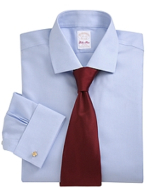 Golden Fleece® Non-Iron Madison Fit Textured French Cuff Dress Shirt