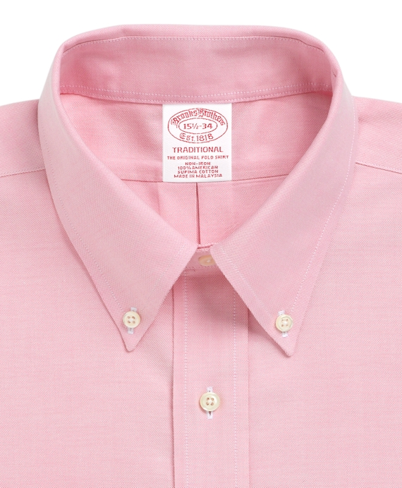 Men 39 S Non Iron Traditional Fit Brookscool Button Down