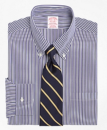 Non-Iron Traditional Fit Bengal Stripe Dress Shirt