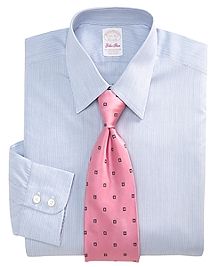 Golden Fleece® Madison Fit Framed Stripe Dress Shirt