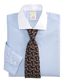 Golden Fleece® Madison Fit Hairline Pencil Stripe Dress Shirt