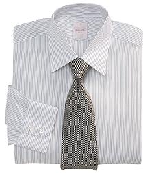 Golden Fleece® Madison Fit Pencil Stripe Dress Shirt