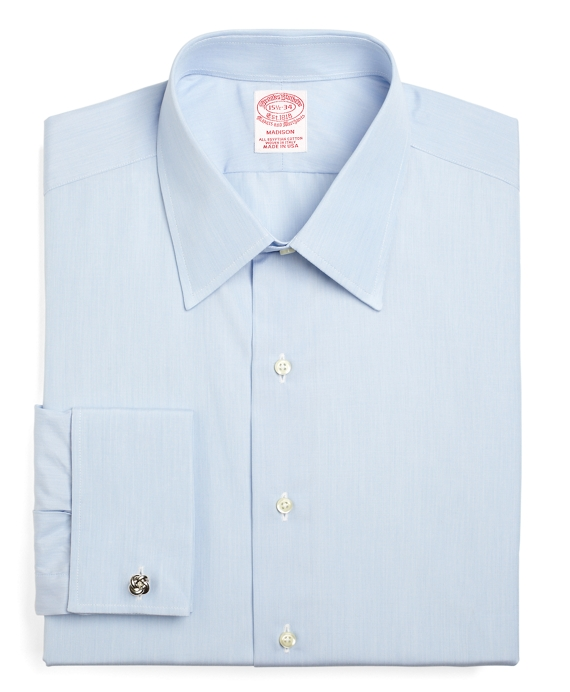 Madison Classic-Fit Dress Shirt, Tennis Collar French Cuff