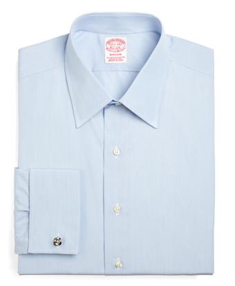 Madison Fit Tennis Collar French Cuff Dress Shirt