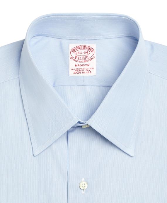 Men 39 s egyptian cotton regular fit tennis collar blue for French collar dress shirt