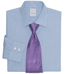 Golden Fleece® All-Cotton Regular Fit Pencil Stripe Dress Shirt