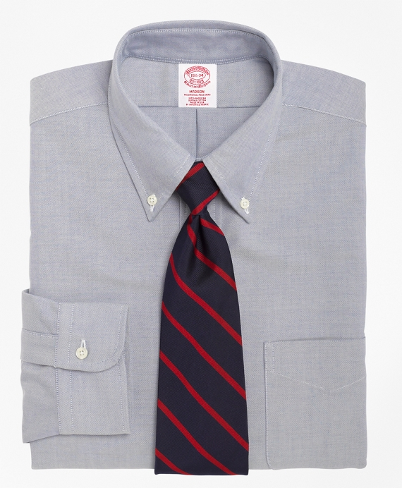 Madison Fit Button-Down Dress Shirt Blue