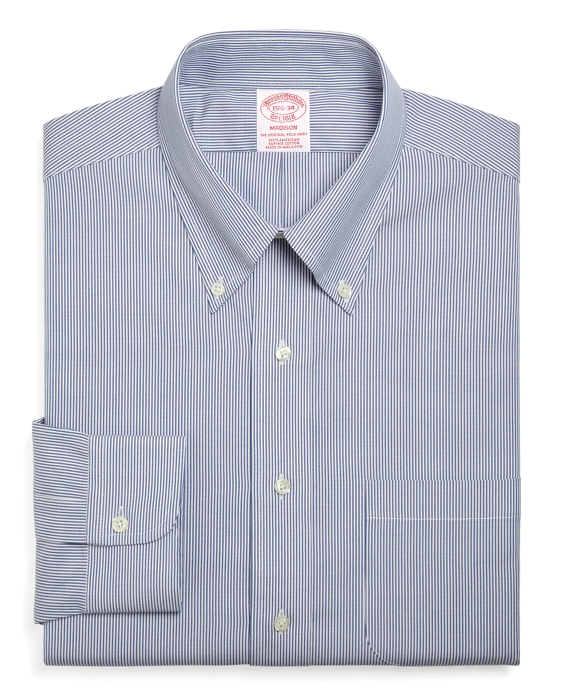 Madison Classic-Fit Dress Shirt, Stripe